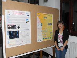 stud. Popovici Ioana, poster section at Farphys Conference, Faculty of Physics, Iasi, 26 October 2012
